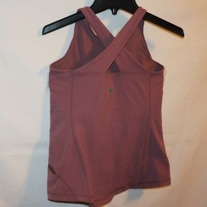 Lululemon pink top Small